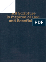 """Watchtower - """"All Scripture is Inspired of God and Beneficial"""" - 1963, 1990"""