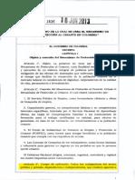 LEY 1636 DEL 18 de JUNIO de 2013 Proteccion Al Cesante