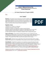 SCEP Fact Sheet