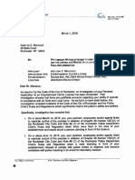 Police chief's letter