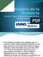 Historia de La Pediatria