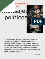 Rasgos Característicos de Los Mensajes Politicos 2