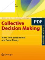 Deemen a.v., Rusinowska a. Eds. Collective Decision Making Views From Social Choice and Game Theory 2010