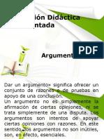 Sesión 5 de Planeación Didáctica Argumentada