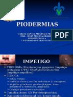 Piodermias- Carlos Daniel Mendoza Méndez