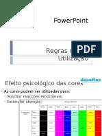 Regras Na Utilização Do Powerpoint