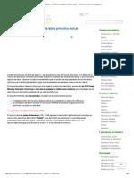 Antecedentes e Historia a La Tabla Periodica Actual _ Quimica _ Quimica Inorganica