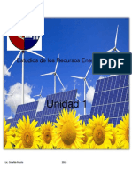 Estudios de Los Recursos Energéticos - Unidad 1