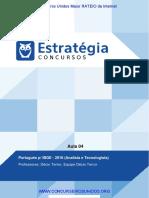 PDF Ibge Analisa e Tecnico Portugues p Ibge 2016 Analista de Planejamento e Gestao Aula 04