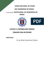 Costos y Contabilidad Minera -Segundo Caso