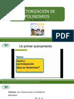 Presentación Factorización