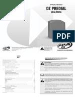 Manual Tecnico DZ Predial Analogica