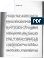 RANCIÈRE, J. Literatura Impensável. in Políticas Da Escrita
