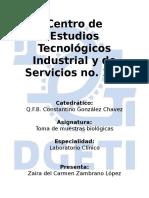 Organización de Actividades de Laboratorios