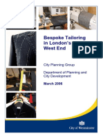Bespoke Tailoring Report March 2006