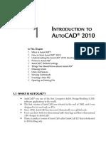 Intro to AutoCAD 2010