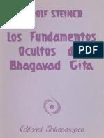 Steiner Rudolf Los Fundamentos Ocultos del Bhagavad Gita Del Bhagavad Gita