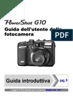 Manuale Canon Powershot G10