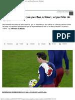 Traigan estantes que pelotas sobran el partido de Messi  Lionel Messi, Barcelon.pdf