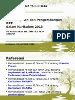 Rpp Kurikulum 2013-Ppl 2016