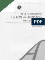 Gregorio Weinberg, De la Ilustracion a la Reforma Universitaria