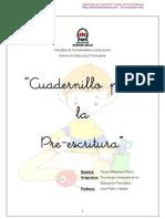 Cuadernillo de La Preescritua Finalizado y Arreglado