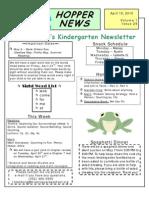 Hopper News - Issue 29 - April 19