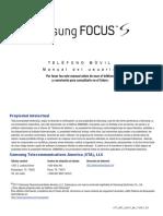 ATT I937 Focus S Spanish User Manual