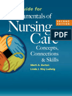 Study Guide for Fundamentals of Nursing Care - Burton, Marti [SRG]
