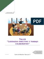 Liderazgo Directivo y Trabajo Colaborativo Def.