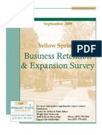 Business Retention Expansion Survey - September 2009