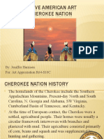 J Harrison Art Cherokee Presentation 1