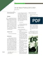 13.Plan Decenal de Salud Publica 2012 2021 Resumen Ejecutivo