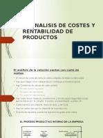 El Analisis de Costes y Rentabilidad de Productos