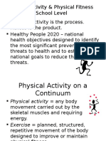 physical activity  physical fitness for moodle
