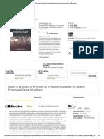 O Princípio Da Proporcionalidade No Direito Processual Penal Brasileiro