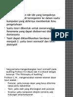 Bab 2 ( Teori, Konsep Dasar Dan Standar Auditing)