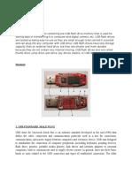Flash Drive Material