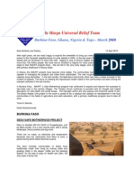 AMURT West Africa Newsletter April 2010