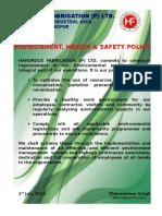 HF EHS POLICY.doc