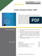 CISA Leaflet[1]