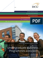 DCU Business School Undergraduate Brochure