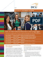 International Business and Languages