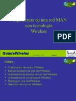 Arquitectura de Una Red MAN Con Tecnología Wireless