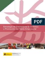 Crecimiento Economico y Promocion Del Tejido Empresarial