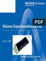 Reliance Super Invest Assure Plan-V1