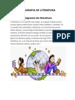 Infografia de Literatura