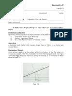 Lab 9 Angle of Repose Ayob