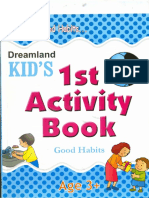 Activity book for the third year kids