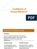 Group Foundations